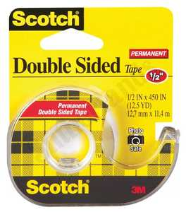 Scotch 137 1-1/2-Inch X 450-Inch Double Sided Tape
