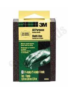 3M 908-ESF Small Area Sanding Sponge, Fine/Medium