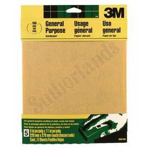 3M 9001NA Sandpaper 9x11 Fine