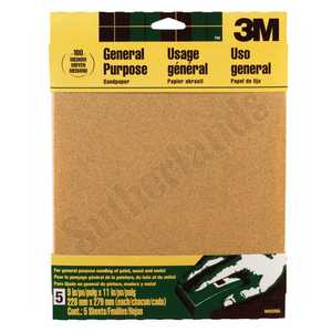 3M 9002NA Sandpaper 9x11 Medium