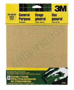 3M 9005NA Sandpaper 9x11 Assorted