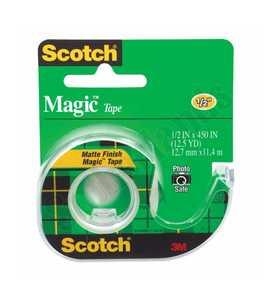 Scotch 104 .5-Inch X 12.5-Yard Magic Transparent Tape
