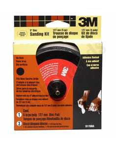 3M 9176 5 In Adhesive Backed Disc Sander Kit