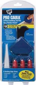 Dap 0766758 Pro Caulk 8-Piece Caulking Tool Kit