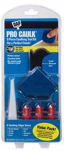 Dap 09125 Pro Caulk 8-Piece Caulking Tool Kit