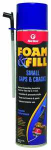 Red Devil 0920 Foam and Fill Small Gaps and Cracks Expanding Polyurethane Sealant 20 fl. oz. Champagne