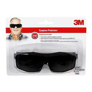 3M 47032-WZ6 Black Eyeglass Protectors With Tinted Lens