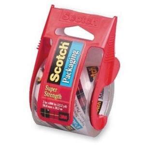 Scotch 142 1.88-Inch X 800-Inch Heavy Duty Shipping Packaging Tape
