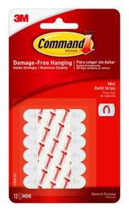 Command 17020 Mini Refill Strips