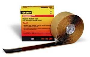 Scotch 2228 Rubber Mastic Tape 2228