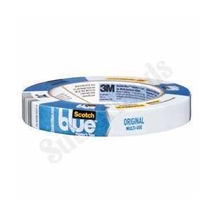 ScotchBlue 2090-.75A Blue Painters Tape Multi Surface 3/4x60yd