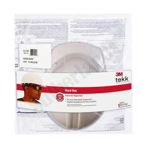 Tekk Protection 91295-80025T Non-Vented Hard Hat With Pinlock Adjustment, White
