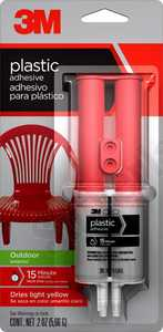 3M 18032 Plastic Adhesive For Outdoor Surface .20 Oz