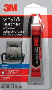 3M 18060 1-Fl. Oz. Vinyl And Leather Adhesive