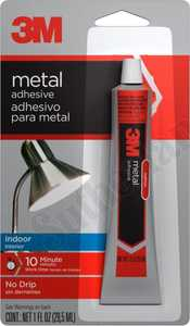 3M 18070 Metal Adhesive For Indoor Surface 1 oz