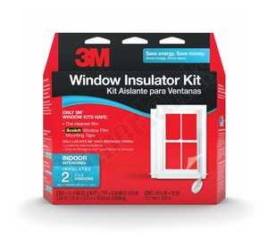 3M 2120W-6 Window Insulation Indoor Kit Double Pk