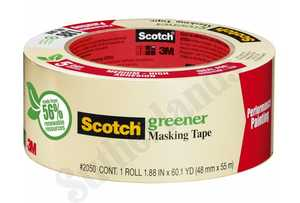 3M 2050-.75A 3/4 In X 60 Yd Masking Tape For General Painting