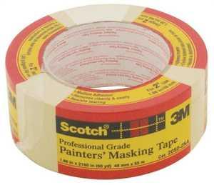 Scotch 2050-2A 1.88-Inch X 60-Yard Professional Grade Painters' Masking Tape