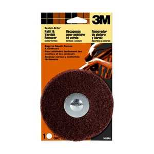 3M 9413NA ScotchBrite Contour Surface Paint And Varnish Remover