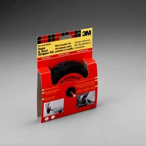 3M 9419NA ScotchBrite Flat Surface Paint & Rust Stripper