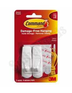 3M 17001 Command Hook Medium