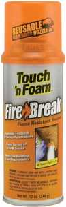 Convenience Products 4004501212 Touch N Foam Flame Resistant Sealant 12 oz
