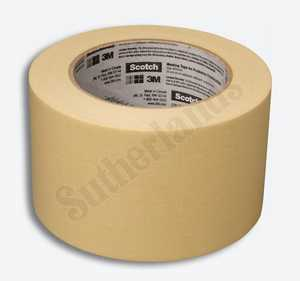 3M 2020-3A-BK Masking Tape Gen Purpose 3x60yd
