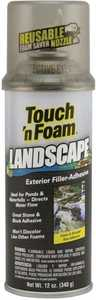 Convenience Products 4477394 Touch N Foam Landscape Filler Adhesive 12 oz Black