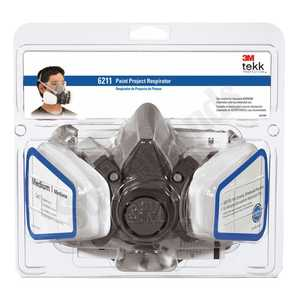 3M 6211PA1-A 6000 Series Paint Project Respirator