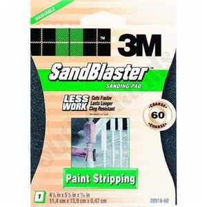 3M 20918-60 Sandblaster Sand Pad 60grit