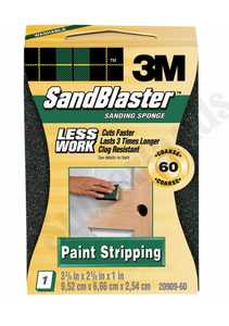3M 20909-60 Sandblaster Sand Block 60grit