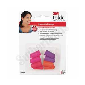 Tekk Protection 92050-00000T Disposable Earplugs 4-Pair
