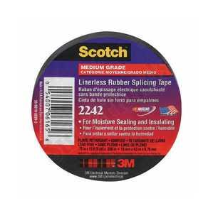 3M 6165-BA-10 Linerless Elec Rubber Splice Tape