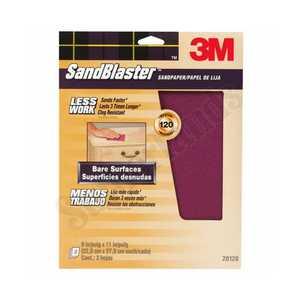 3M 20120-G Sandblaster Sandpaper 9x11 120grit