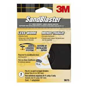 3M 9675 Sandblaster Rh Angle Grinder Adapter 41/2