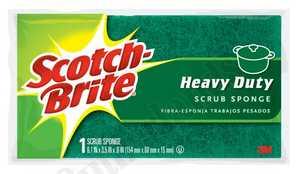 3M 455 Sponge Scrub Scotch Brite Large