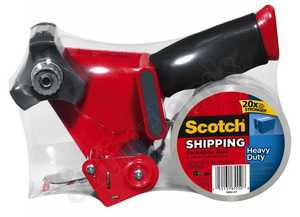 3M 3850-ST Packing Tape 48mmx50m With Hand Dispenser
