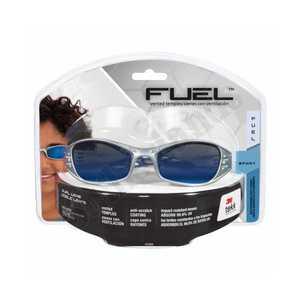 3M 90988-80025T Platinum Blue Mirror Safety Glasses