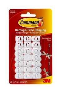 3M 17026 Command Decorating Clips