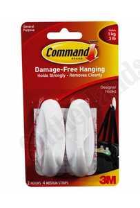 3M 17081 Command Hook Designer Med Adh