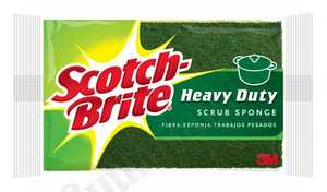 3M HD-3 Sponge Scotch Brite Heavy 3pack