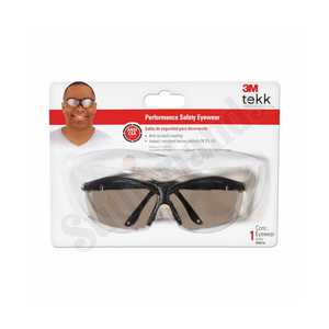 3M 90974-80025T Xf4 Lt Silver Mirror Safety Glasses