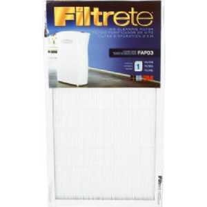 Filtrete FAPF03-4 12 x 22 x 3/4-Inch Air Cleaning Filter For Fap03