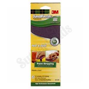 3M 423-080 Flexible Sanding Pad Rect 80 2pack