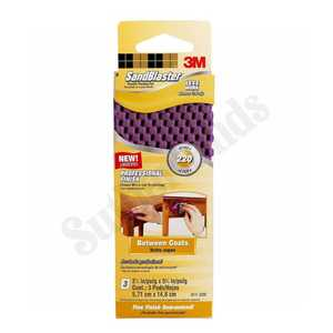 3M 411-220 Flexible Sanding Pad Detail 220 3pack