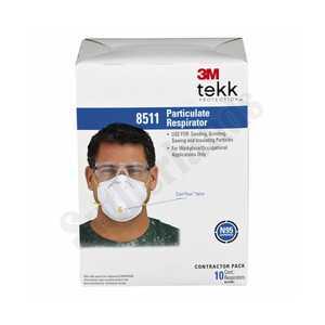 3M 8511PB1-A N95 RespiratorParticulate 10bx