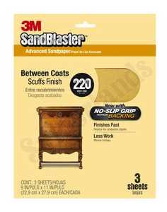 3M 20220-G Sandblaster Sandpaper 9x11 220grit