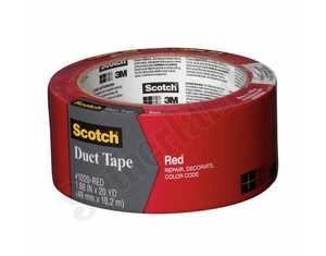 3M 1020-RED-A Duct Tape 1.88x20yd Red Scotch