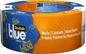 3M 2080EL-2E Blue Painters Tape With Edge Lock 2x60yd