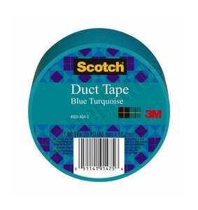 3M 920-AQA-C Colored Duct Tape Aqua 1.88x20